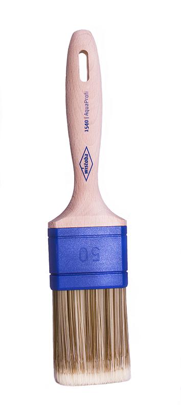 1540 Кисть для красок на водной основе / синтетический ворс с белым кончиком, AquaProfi