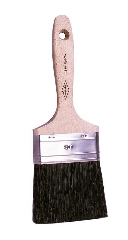 1510 Кисть плоская, черный, смешанный ворс, OptiMix