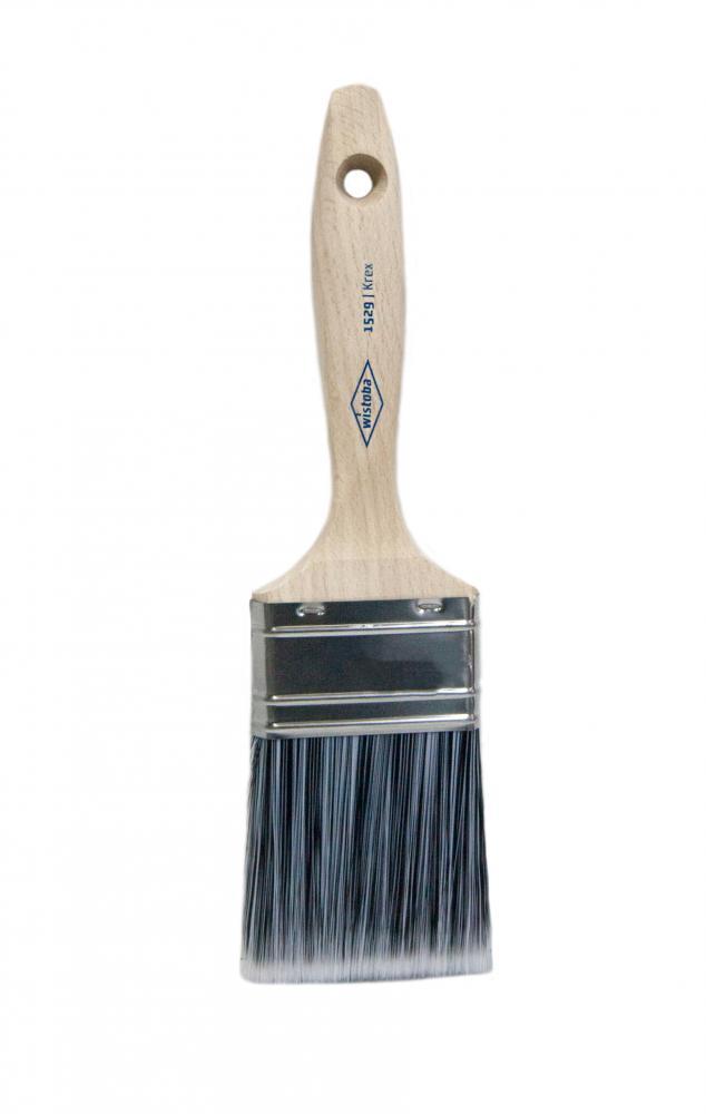 1529 Wistoba, кисть флейцевая, для водных продуктов и лазури,  синтетический ворс, Krex