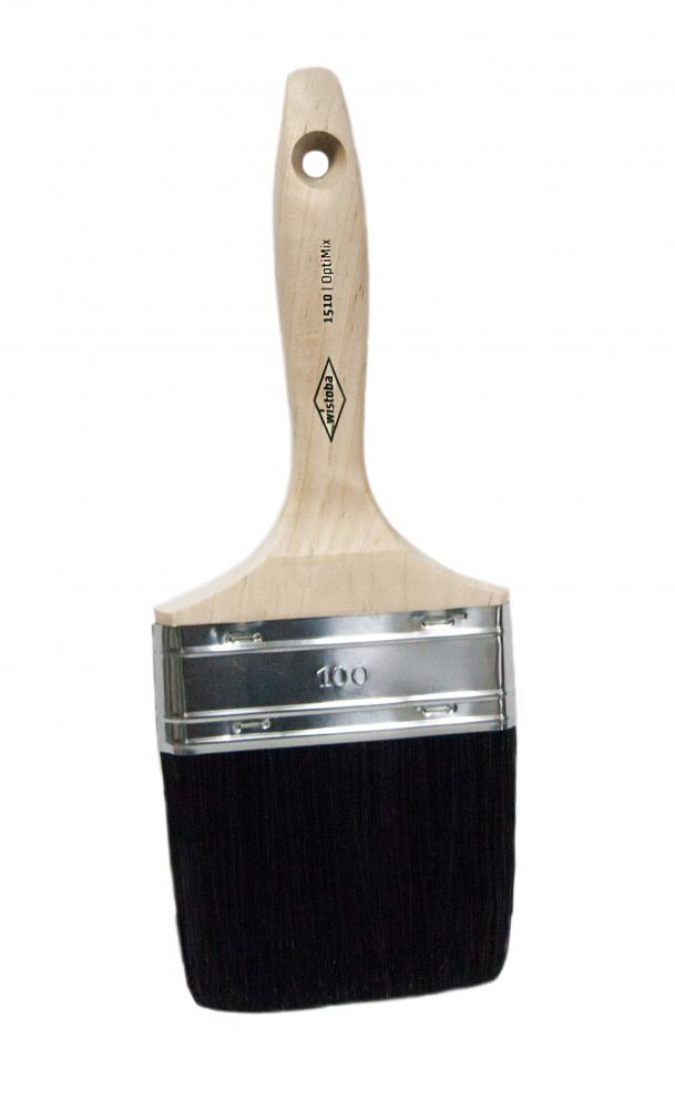 1511 Wistoba, кисть флейцевая, универсальная, черный смешанный  ворс,OptiMix