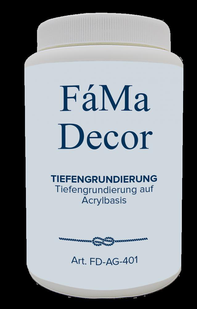 Грунт функциональный акриловый FaMa Decor Tiefengrundierung 1л