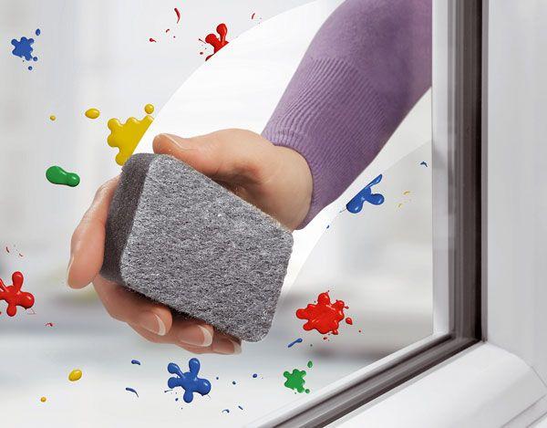 00606212 RAKSO GlasPutzer губка абразивная для стекла и плитки (2 шт. в упаковке)