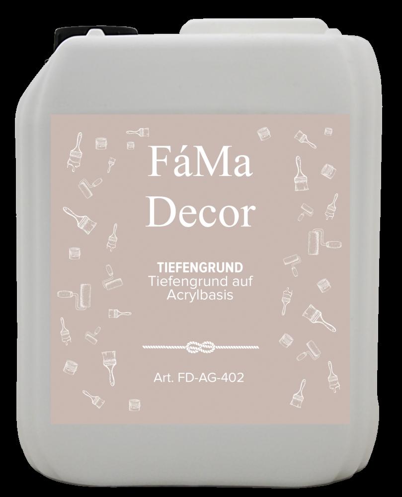 Грунт функциональный глубокого проникновения FaMa Decor Tiefengrund