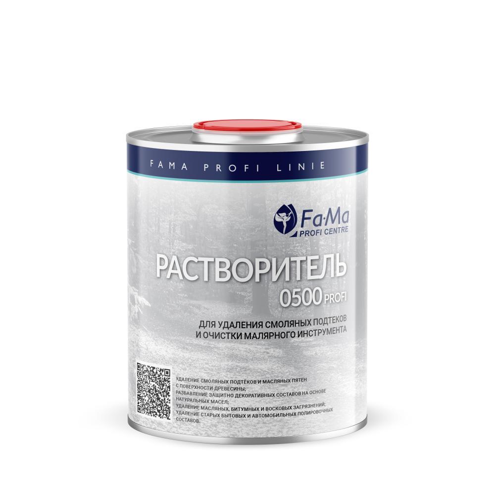 Растворитель 0501 PROFI для удаления смоляных подтеков и очистки инструмента