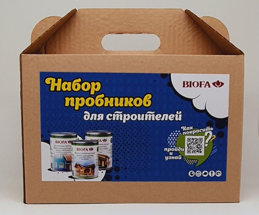 34 01 51 BIOFA Набор пробников для строителей