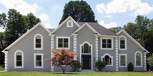 Фасад или интерьер каменного дома