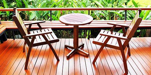 Террасы, настилы или садовую мебель